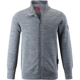 Reima Mahin Sweat-shirt de survêtement Enfant, melange grey